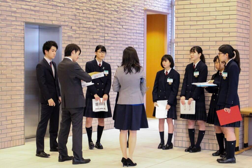 江戸川女子高校インタビュー